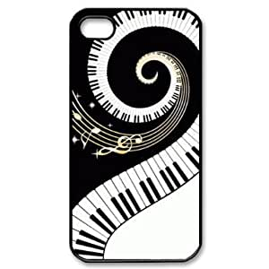 Individual fixed piano keys iPhone 4 / 4S Cover, Snap On Piano Keys iPhone 4 / 4S