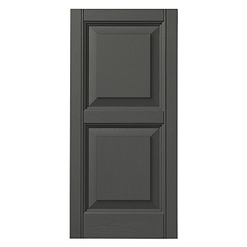 Ply Gem Shutters and Accents VINRP1539 93 Raised Panel Shutter, 15