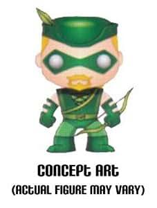 Funko - Figurine Green Arrow Pop 10cm - 0830395023625