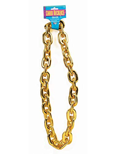 Forum Novelties Jumbo Gold Chain Costume Accessory -