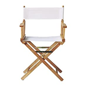 Replacement Canvas Seat And Back For Directors Chair, CANVAS, WHITE