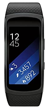 Samsung Gear Fit2 Smartwatch Large, Black 2