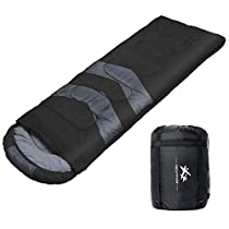 BESTEAM Sleeping Bag for Adults & Kids, Family Camping, Backpacking, Traveling, Hiking. 3 Season Warm & Cool Weather, Waterproof, Lightweight
