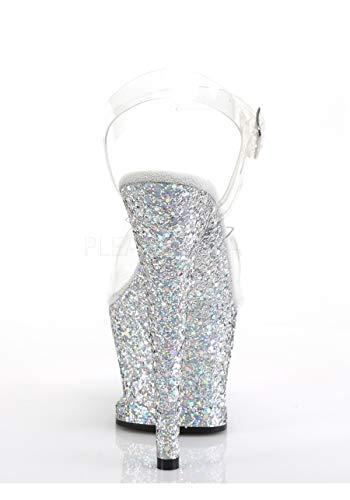 708LG Slv Clr Multi MOON Glitter Pleaser 4A1gTg