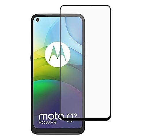 Vizio 9H Hardness Unbreakable Tempered Glass/Screen Guard/Protection designed for Moto G9 Power