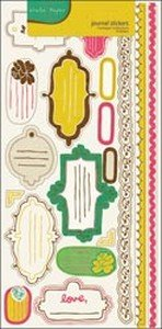 - Cottage Cardstock Stickers: Journal