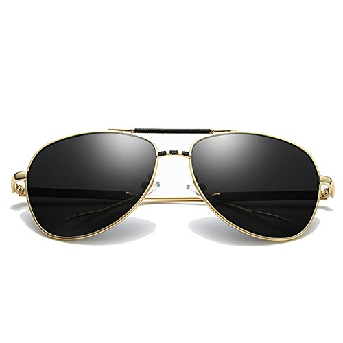 e5dde1c4a7 Venta caliente 2018 MERRYHE Retro Aviador Gafas De Sol Mens Wayfarer  Polarizado UV 400 Lentes De