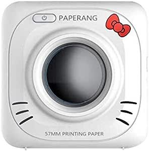 DZSF Mini conexión Directa Bluetooth Impresión térmica Imagen Impresora de Bolsillo pequeña Batería incorporada Impresora instantánea Blanco Negro: Amazon.es: Deportes y aire libre