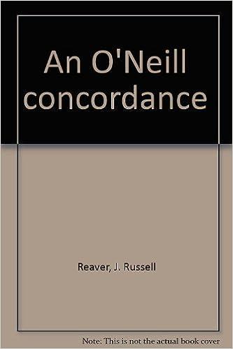An O'Neill concordance (3 Volumes)