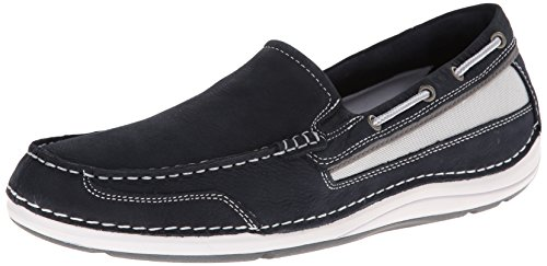 Men's Blues Rockport On Slip Dress Boat Shoal Lake Shoe qSwdZFSn