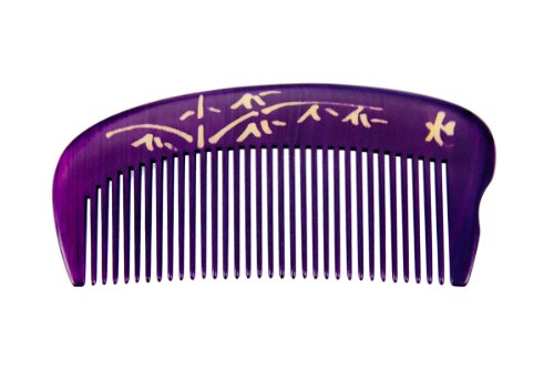 Tan's Comb-Boxwood Natural Dyed 0604 (Purple)