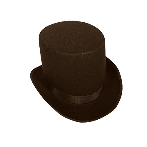 16362 (Small, Brown) Coachman Top Hat