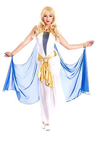 [Horries Women's Pharaoh's Treasure Costume] (Spartan Princess Costumes)