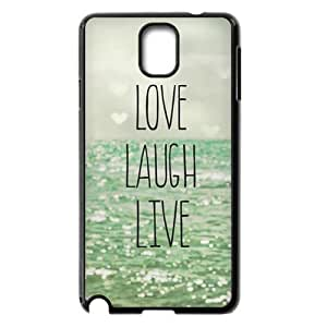 Live Laugh Love The Unique Printing Art Custom Phone Case for Samsung Galaxy Note 3 N9000,diy cover case ygtg576298 by icecream design