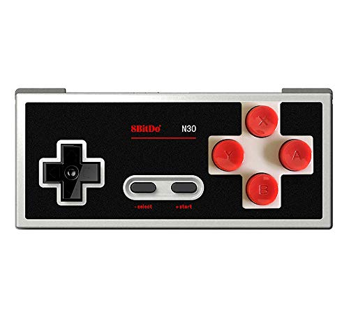 8Bitdo N30 Wireless Controller Gamepad Classic Bluetooth Video Game Joystick for Android/PC/Mac OS/Switch (Classic Joystick For Pc)
