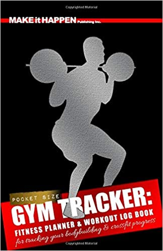 gym tracker fitness planner workout log book for tracking your