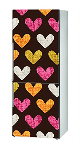 Decusto - Retro Hearts - Adhesivo para Decorar Tu Nevera: Amazon ...