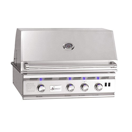 Summerset TRL Series Built-In Gas Grill with Lights (TRL32-NG), 32-Inch, Natural Gas
