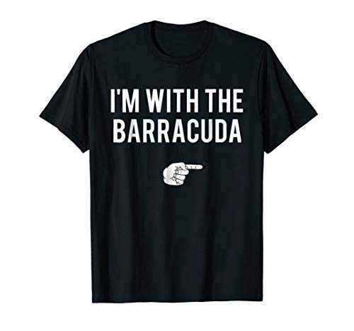 I'm With Barracuda Halloween Costume Party Matching T-Shirt