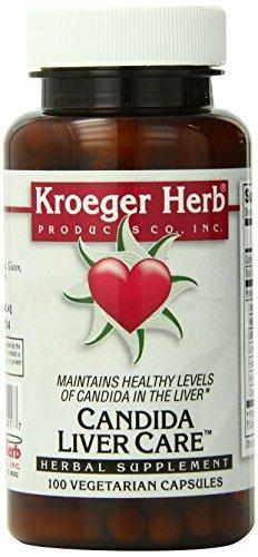 Kroeger Herb Candida Liver Care Vegetarian Capsules, 100 Count by Kroeger Herb