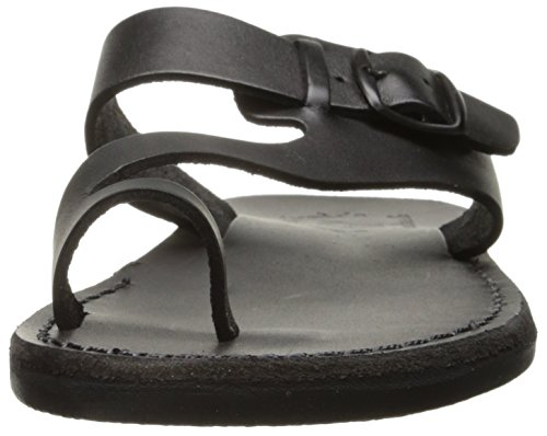 Jerusalem Sandals 504 Men's Abner Slide, Black, 45 EU/12 M US