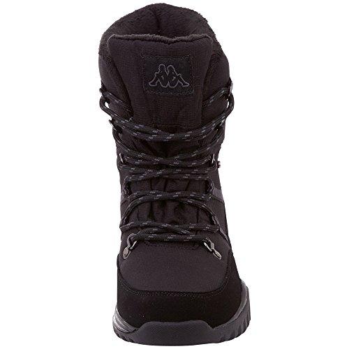 1116 grey Tex Femme Noir Balto Kappa Bottes Rangers black 85g0WPqx