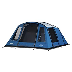 Vango Odyssey Inflatable Family Tunnel Tent, Sky Blue, Airbeam 600 Deluxe