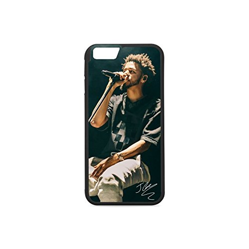 Fit Match Custom (Custom Apple Case J Cole (7) Pattern TPU and Plastic Phone Covers Case for iPhone 6 4.7/6s 4.7)
