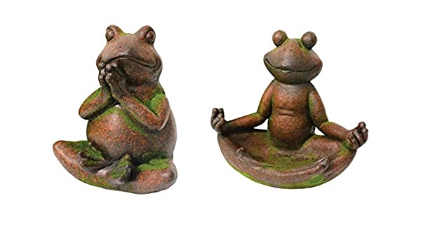 Amazon.com: Frog On Leaf Statue: Home Improvement
