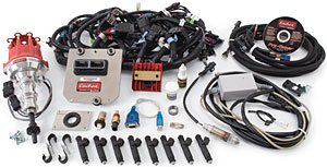 Price comparison product image Edelbrock 3671 Pro-Tuner Victor EFI Electronics Kit Incl. 48-pin ECU / Base USB Key / Fuel Injectors / Ignition Amplifier / Sensors / Wiring Harnesses Ford 289-302 [Available While Supplies Last] Pro-Tuner Victor EFI Electronics Kit