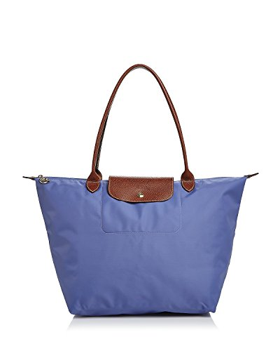 Longchamp 'Large Le Pliage' Tote Shoulder Bag, Lavender
