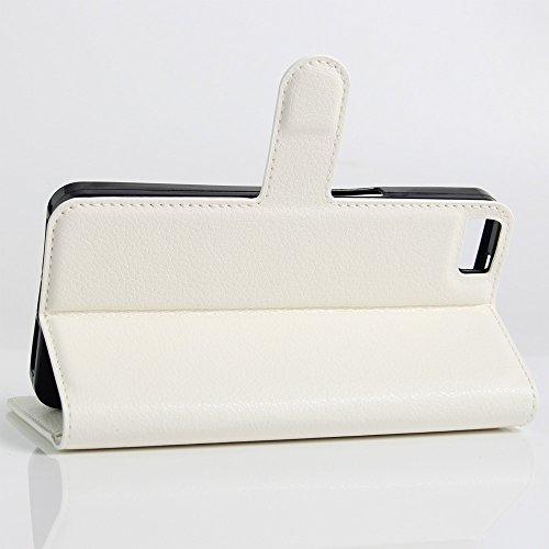 Funda Libro para BQ Aquaris M5.5, Manyip Suave PU Leather Cuero Con Flip Cover, Cierre Magnético, Función de Soporte,Billetera Case con Tapa para Tarjetas C
