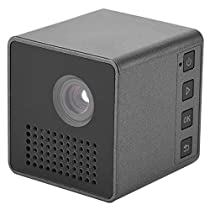 Eboxer Projector Mini DLP Portable Projector,Pocket LED DLP Micro Multimedia Video Projector, 800:1, 7-40in Image,Build-in Speaker Support TF Card, Ideal for Home Theatre Games Outdoor and Camping