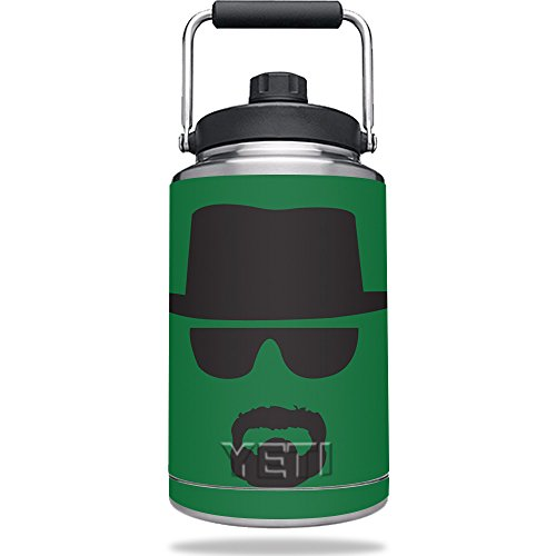 Skin for YETI Rambler One Gallon Jug - Breaking Badass | MightySkins Protective, Durable, and Unique Vinyl Decal wrap cover | Easy To Apply, Remove, and Change Styles | Made - Sunglasses Rambler