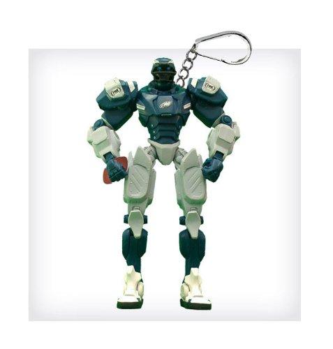 "Philadelphia Eagles 3"" Team Cleatus FOX Robot NFL Football Key Chain Version 2.0"