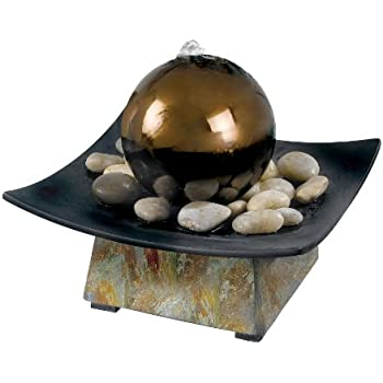 Kenroy Home 50235SL Sphere Indoor Table Fountain