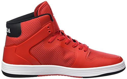 amazing price sale online Supra Vaider 2.0 Men Round Toe Synthetic Black Skate Shoe Red/White outlet footlocker pictures uwRrz60