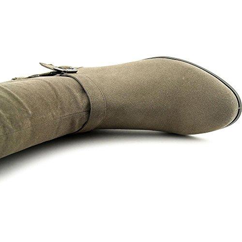Style & Co Faee WIDE CALF Rund Faux Wildleder Mode-Knie hoch Stiefel Mushroom
