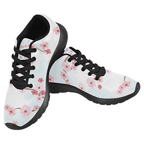 InterestPrint Womens Jogging Running Sneaker Lightweight Go Easy Walking Casual Comfort Sports Running Shoes Multi 37