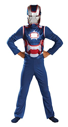 UHC Boy's Marvel Iron Patriot Superhero Fancy Dress Child Halloween Costume, Child S (4-6)