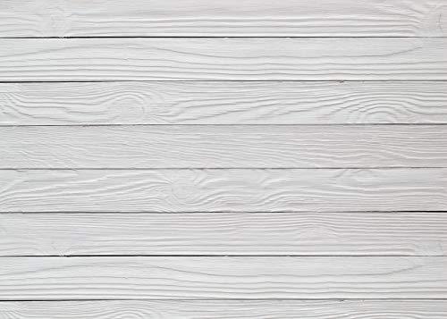 AIIKES 7x5FT Photography Backdrop White Wood Backdrops Photography Wood Floor Wall Background Photographyers Studio Vinyl Photo Backdrop Home Decoration 11-426 (Vinyl Photo Floor)