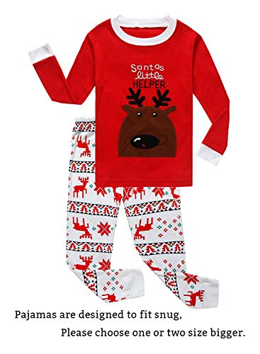Boys Flying Reindeer Christmas Pajamas