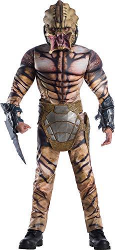 Rubie's Child's Deluxe Predator Costume, -