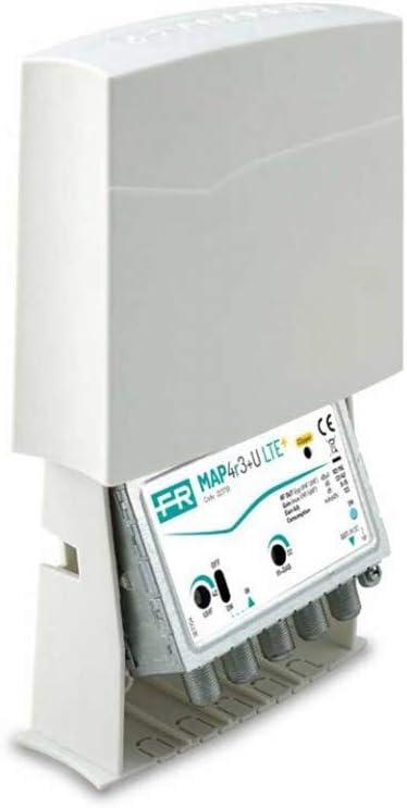 Fracarro 23710 amplificador de mástil MAP4r3UU 22/40dB