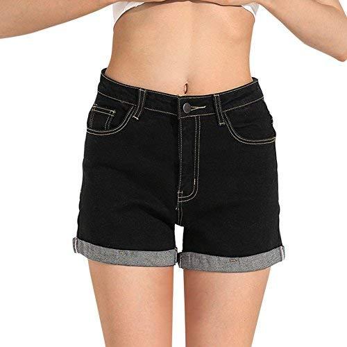 c68542057f805 HOCAIES Juniors Vintage Fit Mid-Rise Body Enhancing Denim Shorts at ...