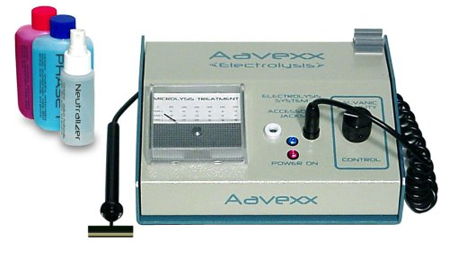 Micro-300 Microlysis Home Use System for Non Invasive Permanent Hair Removal of the Face, Body and Bikini Line 110-240 Volt. by Aavexx