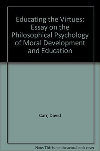 Example Of Essay With Thesis Statement Educating The Virtues Essay On The Philosophical Psychology Of Moral  Development And Education By David Carr  Amazoncom Books Good Essay Topics For High School also English Essays Samples Educating The Virtues Essay On The Philosophical Psychology Of  How To Write A Good Thesis Statement For An Essay