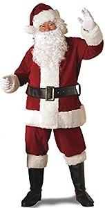 Rubie's Regal Crimson Santa Suit With Gloves,Crimson Red, Standard