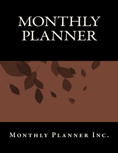 Download Monthly Planner PDF