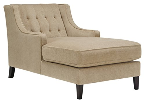 Benchcraft - Lochian Casual Living Room Chaise - Bisque